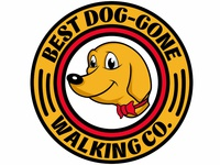 Best Dog Gone Walking Logo