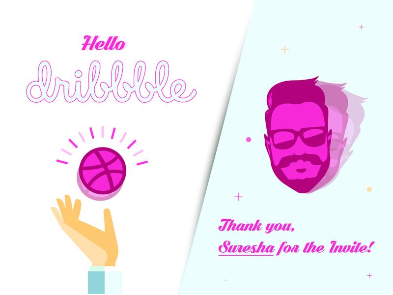 Hello Dribbble!!! hello dribble dribbble invite invite design