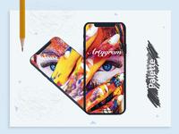 Artygram app design