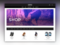 E-Commerce Desktop View [WIP]