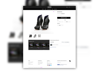 E-Commerce Single Product > Desktop View [WIP] awesome design ecommerce mobile online responsive shop store ui ux web user interface