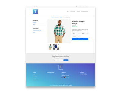 Tamara Theme - Single Product (WIP) web ux user interface ui store shop responsive online mobile ecommerce design awesome