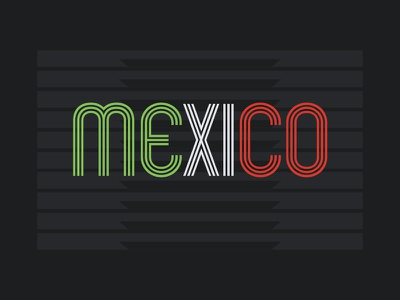Mexico - Olympic Sticker Design Contest branding graphic logo olympics mexico identity design awesome