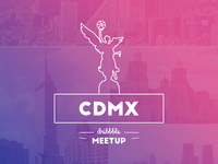 Dribbble Mexico City Meetups - Refresh