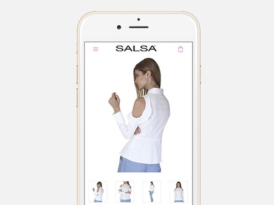 Salsa - Product View web ux user interface ui store shop responsive online shopify ecommerce design awesome