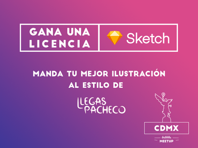 ¡Gana una licencia de Sketch! contest illustration ilustracion giveaway free sketch design awesome