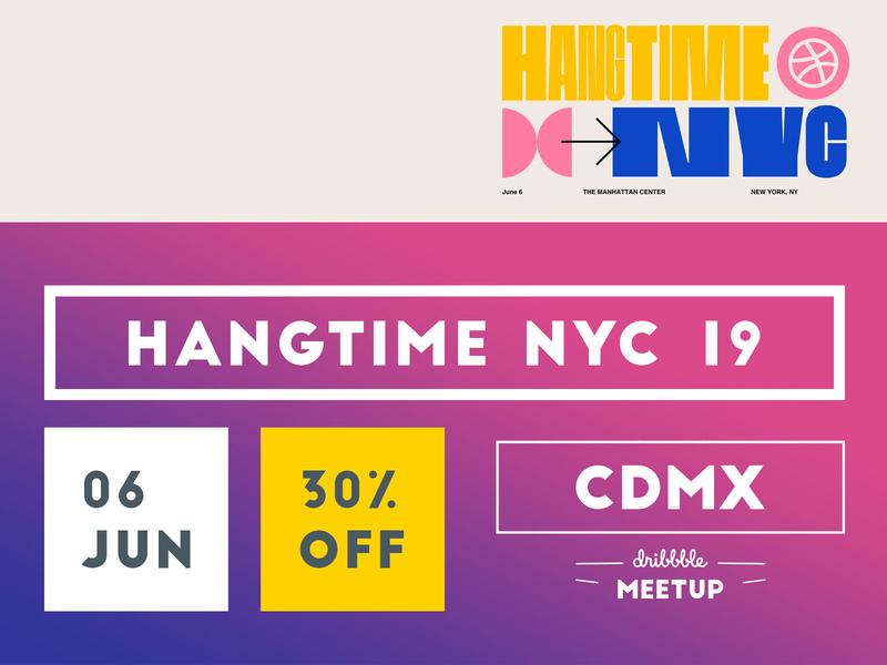 COMUNIDAD: ¡Compra tus boletos para Hang Time con 30% OFF! event mexico nyc hang time hangtime