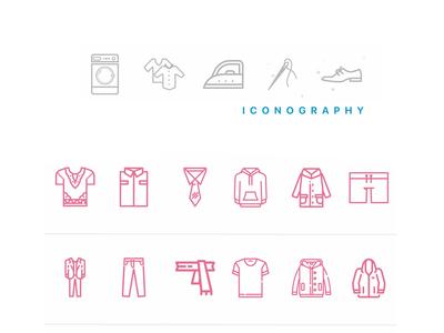 Blanchi - Iconography illustration awesome design icons iconset