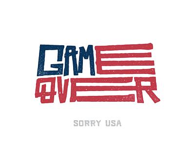 Make America Worse Again unitedstates ink sad vote election 2016 print lettering trump america flag usa
