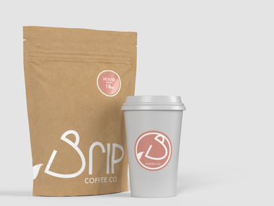 Drip Coffee coffee beans adobe dimension cup packaging product coffee