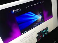Website for beamerlasershow App