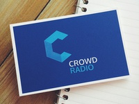 Business card for CROWD RADIO