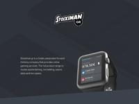 Apple Watch Stoiximan