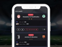 Live Score Application