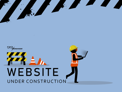 Nerdikode website under construction