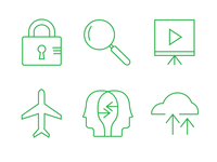 Evernote Premium icons set