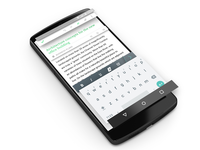 Evernote Android Material - Depth example