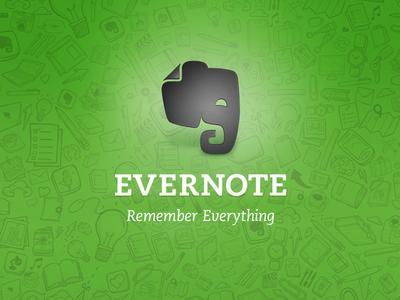Evernote 5 splash screen