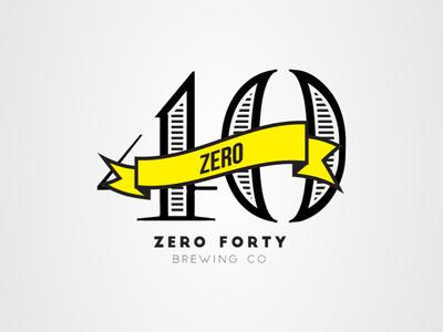 Zero40 logo (Vintage)