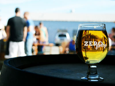 Zero40 logo (Grunge)