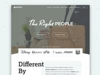 Amtec Staffing Homepage