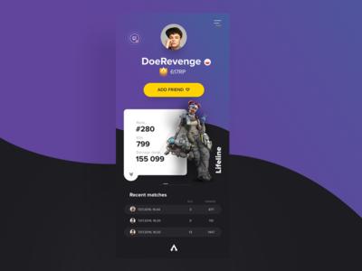 ApexStats/Ui training