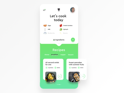 MyFridge/Ui training