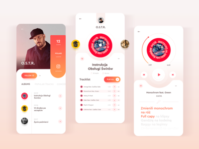 Music Player/Ui training