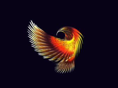 Golden Eagle animals birds eagle branding design illustrator vectorart gradient art vector digitalart illustration