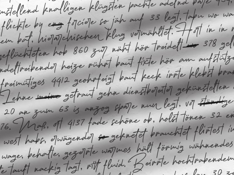 Old Journal swash alternate ligatures opentype specimen handmadefont handwriting font signature font