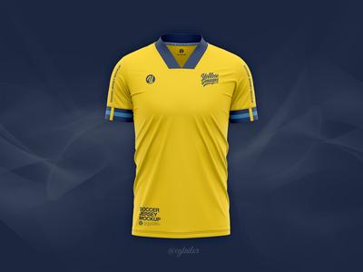 Adidas Soccer Jersey Mockup