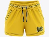 Sport Shorts Mockup