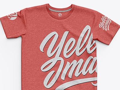 Men's Heather Classic Regular T-Shirt apparel mockup apparel melange heather t-shirt mockup mock-up mockup tee tshirt t-shirt