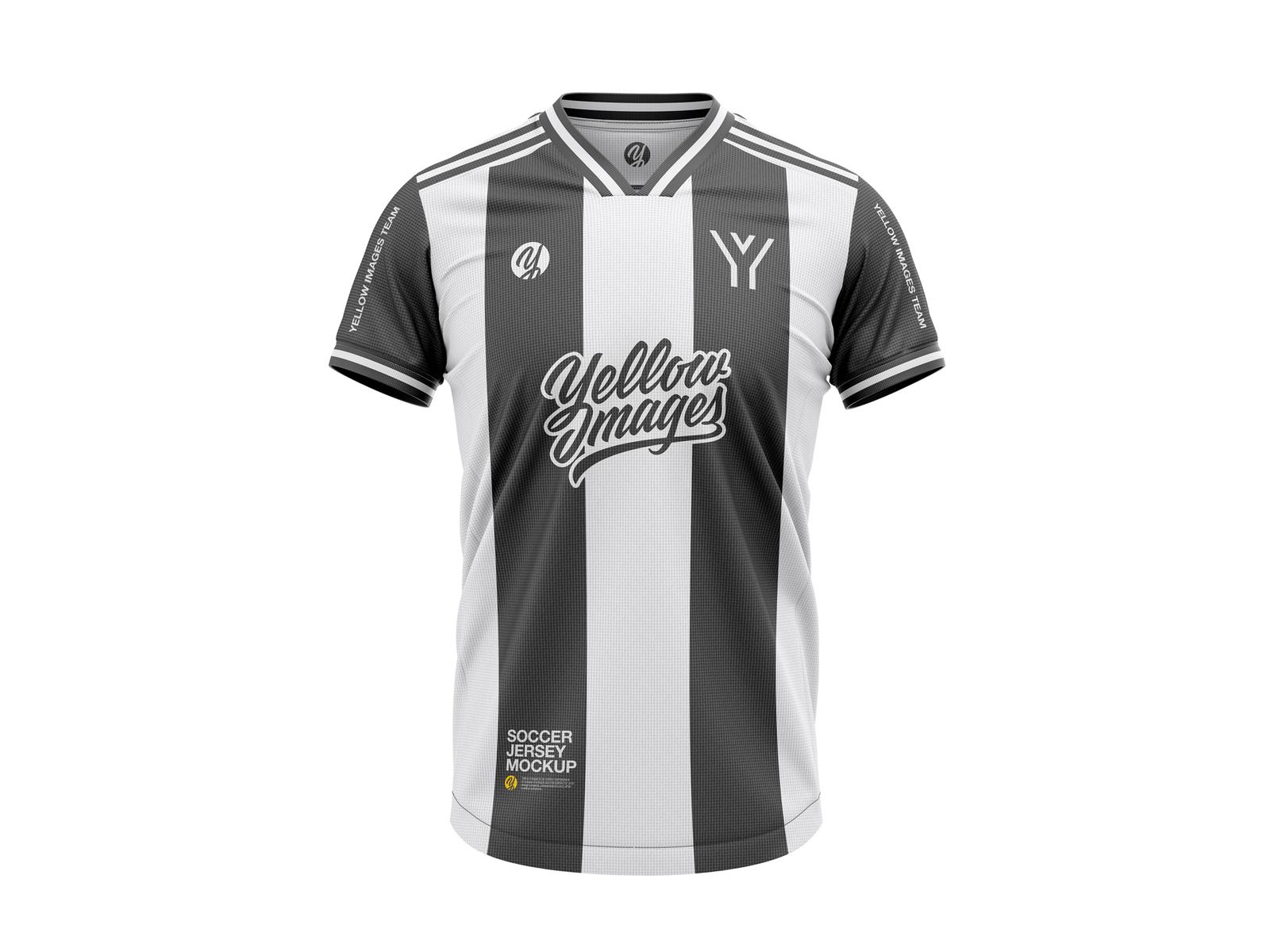 Men s Soccer V-Neck Jersey Mockup - 2018 – 2019 season soccer jersey mockup  jersey dc6609851
