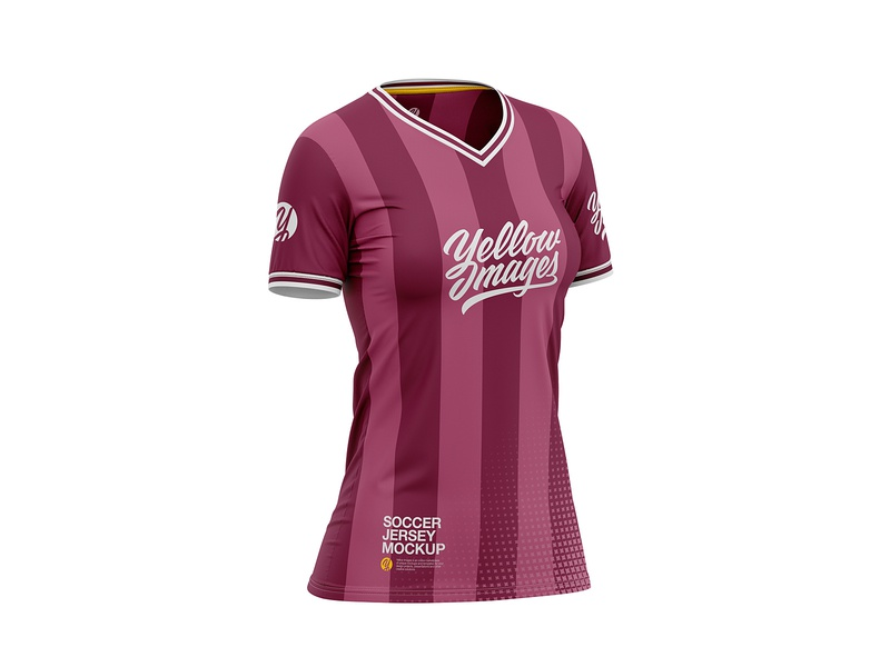newest 8b68f 12e67 Women's Soccer Jersey Mockup by CG Tailor on Dribbble