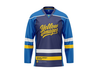 Hockey Jersey Mockup ice hockey hockey sportswear sport mock-up apparel mockup 3d apparel mockup jersey mockup hockey jersey hockey jersey mockup