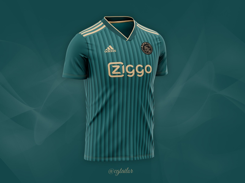 Football / Soccer Concept for FC AJAX fc adidas football club concept kit jersey mockup soccer jersey mockup soccer jersey t-shirt mockup sportswear jersey mockup apparel 3d sport apparel mockup mock-up soccer kit football kit soccer football