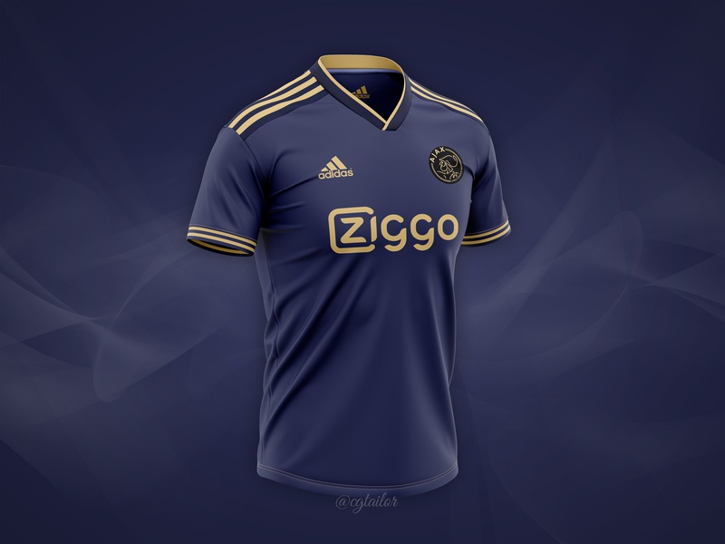 Download Ajax FC football concept by CG Tailor on Dribbble Free Mockups