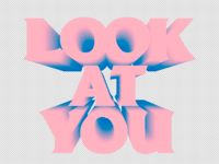 GAWVI - Look At You ft. wordsplayed (Single Cover)