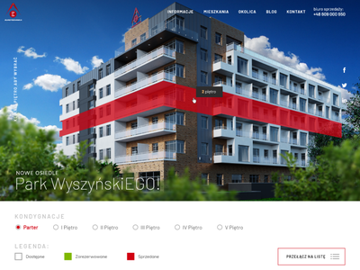 Park Wyszyńskiego wordpress webdesign 3d