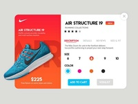 Shopping Page UI Design