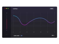 Equalizer UI Design