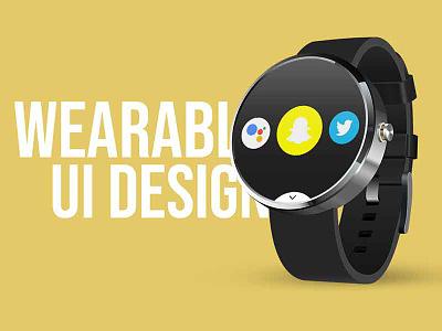 Wearable UI Design thebestisyettocome userinterface portfolio webdesign uianimation animation ux ui dailyuichallenge day26