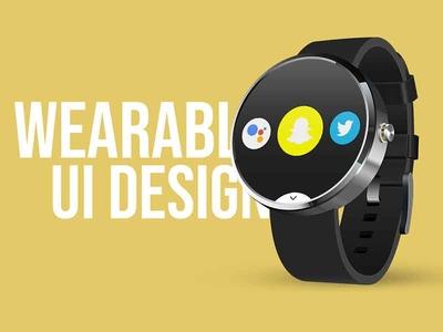 Wearable UI Design