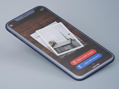 SignUp/SignIn Screen UI Design