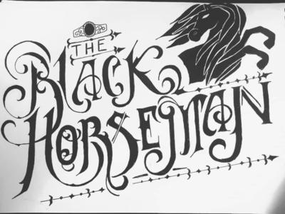 Black Horseman - inktober 2019