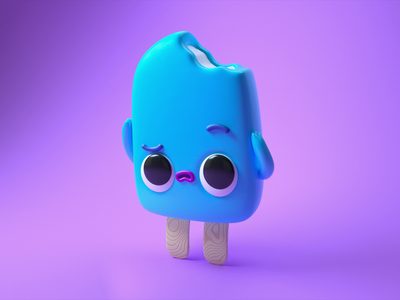 Popsicle Headache popsicle motion graphics gif mograph eyedesyn 3d cinema 4d c4d