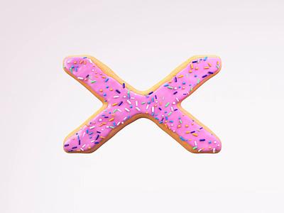 HEXO Donut food donut logo motion graphics animation c4d eyedesyn cinema 4d