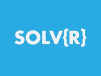 Solver Logo design