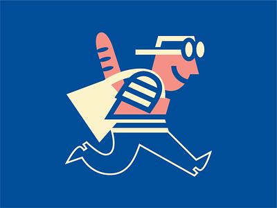 GROVE STREET PLATES LOGOMARK branding vector logo design illustration graphic cartoon